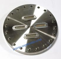MULTI-PIN SUB D INSTRUMENTATION FEEDTHROUGH - CF FLANGE