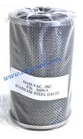 MV PRODUCTS STAINLESS STEEL GAUZE FILTER ELEMENTS